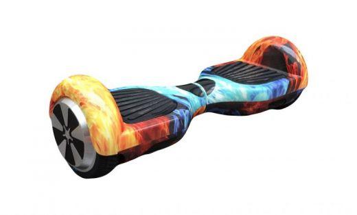 Гироскутер Smart Balance Wheel 6.5 самобаланс Огонь разноцветный