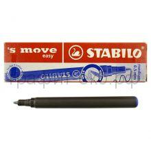 Стержень Stabilo EASY 3шт/уп.синий 6890/041