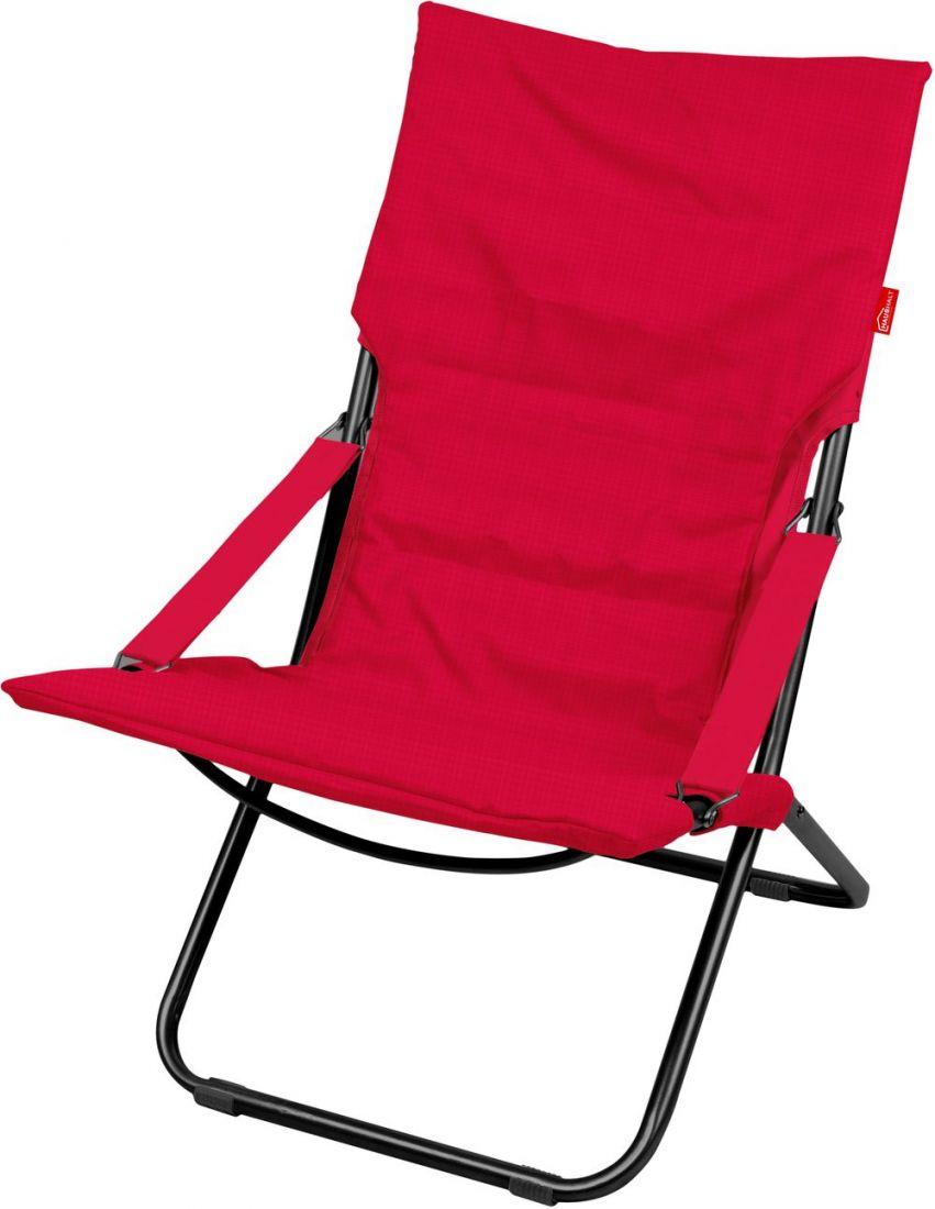 Кресло-шезлонг складное с матрасом Haushalt