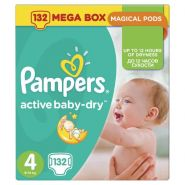 Pampers Active Baby 7-14кг, 132шт (4)