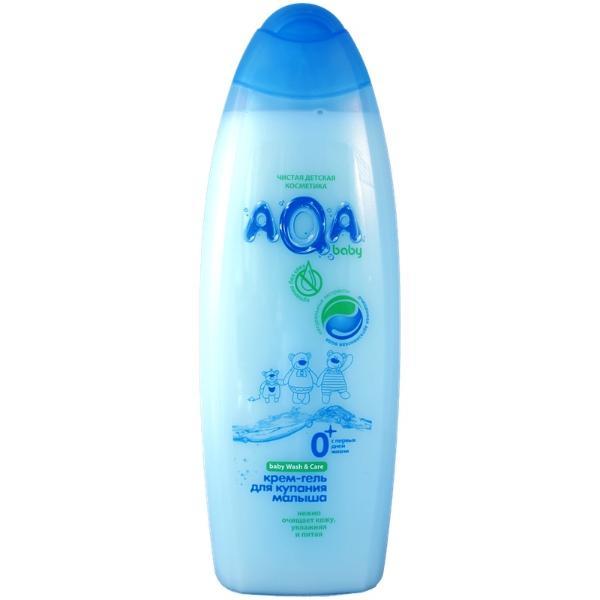 AQA Baby Kids Крем-гель для купания малыша, 500 мл