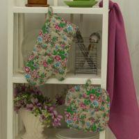 """Набор для кухни 3 предмета """"Полевые цветы"""""""