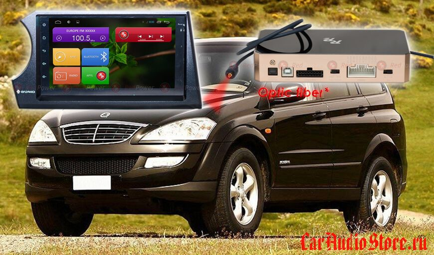 Redpower 31158 SsangYong Kyron (05-15), Action (05-11)