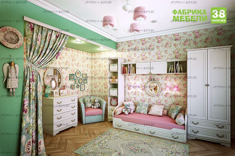 Детская комната Классика №1