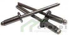 Заклепки вытяжные 3.2х8 мм нержавеющая сталь/нержавеющая сталь (100 шт)