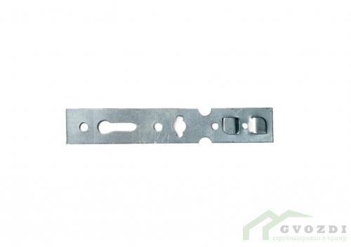 Анкерная пластина поворотная для профиля Rehau 150х25х1.2 мм (10 шт)