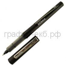 Ручка-роллер Zebra SX-60A черная