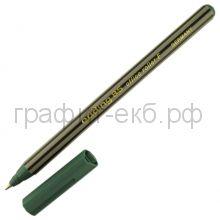 Ручка-роллер Edding 0.5мм зеленая 85