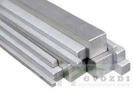 Квадрат стальной 10, длина - 12,0 метров, горячекатаный прокат квадратный, ГОСТ 2591-88