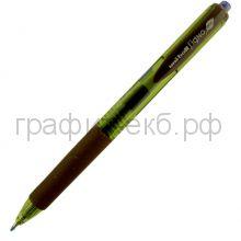 Ручка гелевая Uni синяя  UMN-105 автоматическая