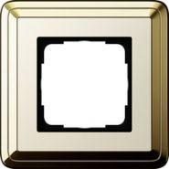 Gira ClassiX Латунь/Кремовый Рамка 1-ая(0211633)