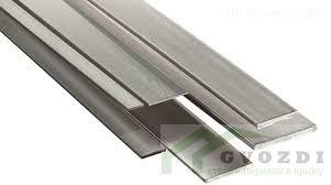 Полоса стальная горячекатаная 50х4, длина - 6,0 метров, ширина - 50 мм, толщина - 4 мм, ГОСТ 103-2006