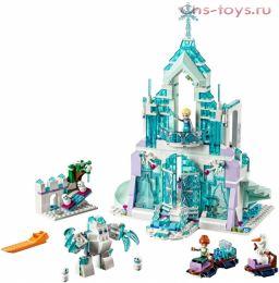 Конструктор Lari Ice Enchanted Волшебный ледяной замок Эльзы 10664 (41148) 709 дет