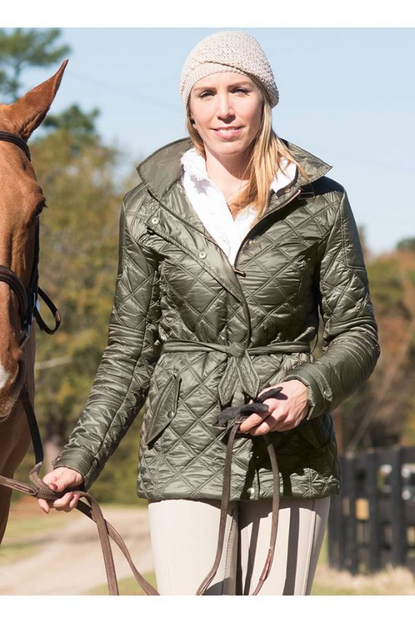 Зимняя куртка Frankie Quilted Jacket, FITS