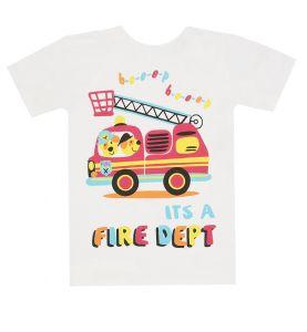 футболка белая мальчику 4 лет