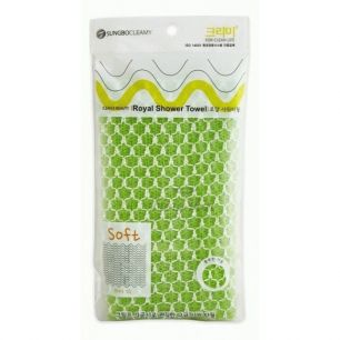 """SB"" CLEAN&BEAUTY Eco Corn Shower Towel Мочалка для душа (25х100)"