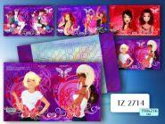 """Обложка для дневников и тетрадей """"Girls"""", 350*216 мм (арт. Tz-2714) (12688)"""
