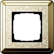 Gira ClassiX Art Латунь/Кремовый Рамка 1-ая(0211673)