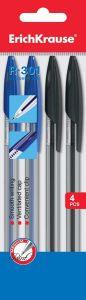 Ручки шариковые набор 4 шт. ErichKrause R-301, 1мл