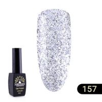 Гель-лак Global Fashion Black Elite №157, 8 мл