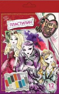 Пластилин Ever After High (12 цветов, 240 г)