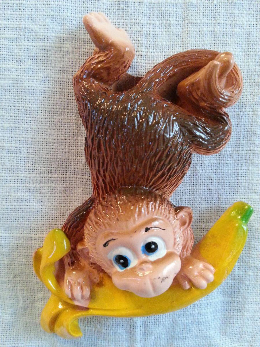 Магниты на холодильник обезьянка 002-1