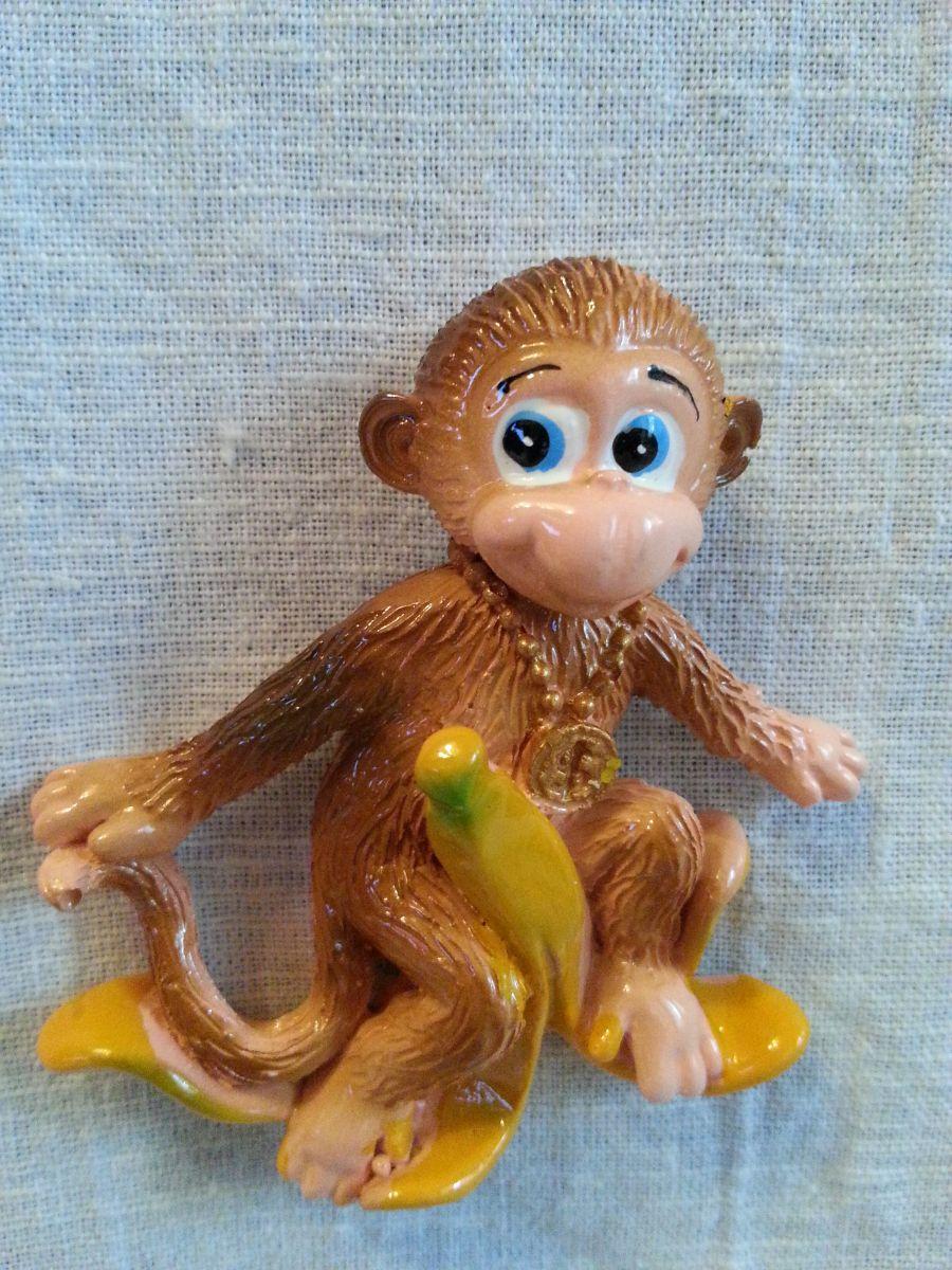 Магнит на холодильник обезьянка 002-2