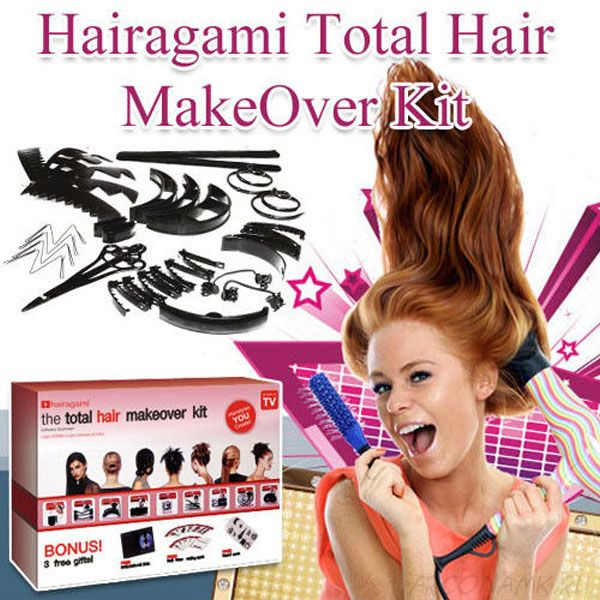 Заколки Hairagami Total Hair Make Over Kit (Персональный стилист)