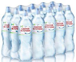 Доставка воды Святой источник, Спорт, негаз. 0,75 л, пэт (1 уп./15 бут.)
