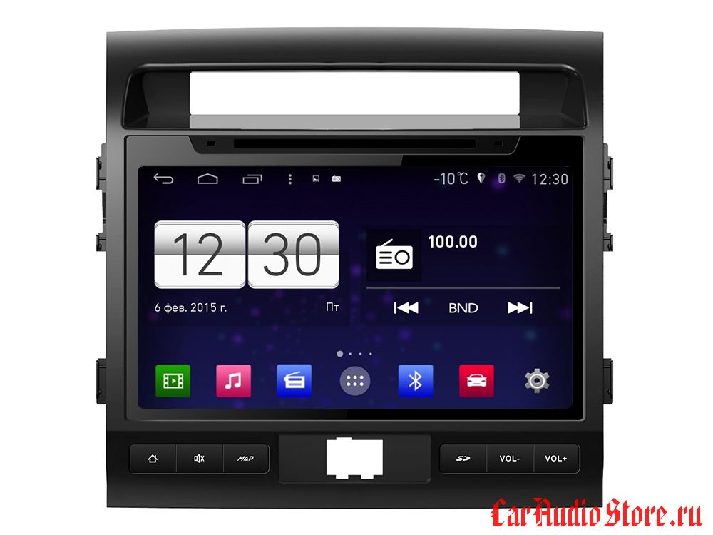 FarCar s160 для Toyota Land Cruiser 200 на Android (m381)