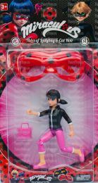 Игровой набор Кукла Marinette Леди Баг и Супер Кот + маска (Miraculous Ladybug)