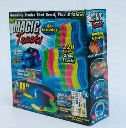 (Сток по мятой упаковке) Гоночная трасса Magic Tracks 220 новое поколение