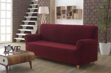 Чехол для трехместного дивана ROMA (бордовый) Арт.2689-2