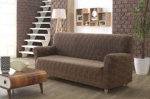 Чехол для трехместного дивана ROMA (кофейный) Арт.2689-4