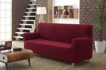 "Чехол для трехместного дивана  ""KARNA""  MILANO  (бордовый) Арт.2686-3"