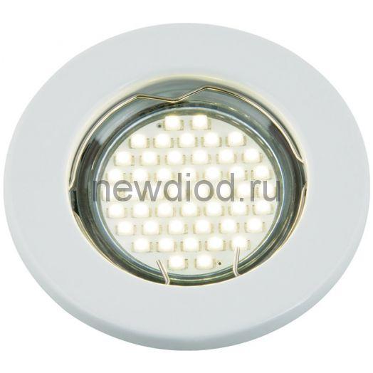 Светильник встраиваемый MR16R-W металл под лампу JCDR GU5.3 12/230В белый IN HOME