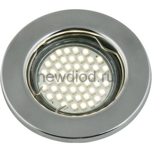 Светильник встраиваемый MR16R-C металл под лампу JCDR GU5.3 12/230В хром IN HOME