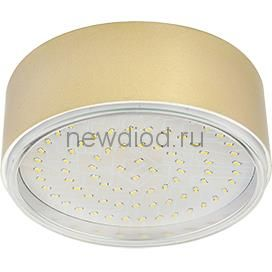 Светильник накладной GX53S-standard металл под лампу GX53 230В золото IN HOME