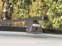 Багажник на рейлинги Лада Ларгус, Евродеталь, стальные дуги