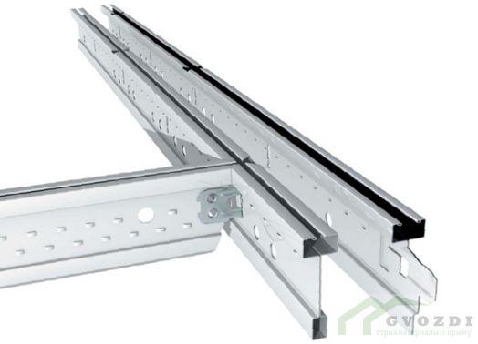 Панель кассетная Албес кромка Tegular белая стальная 600х600 мм