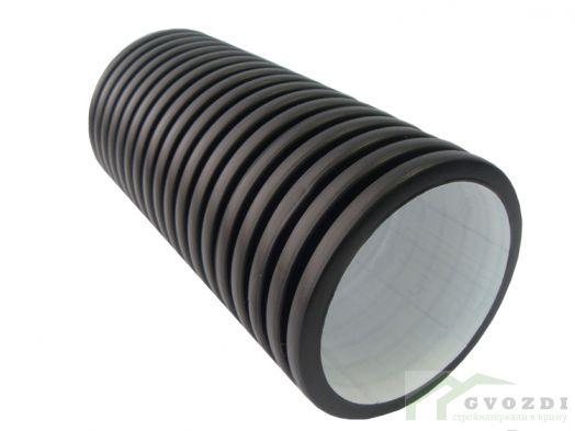 Дренажная труба ДГТ-ПНД d110 в фильтре 50 м
