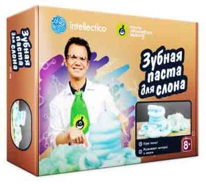 Набор химика. Зубная паста для слона