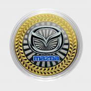 10 РУБЛЕЙ Mazda ЦВЕТНАЯ ЭМАЛЬ - СЕРИЯ АВТОМОБИЛИ МИРА - ЯПОНСКИЕ