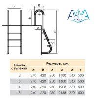 Лестница Aquaviva MUS