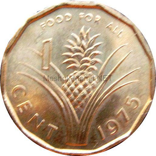 Свазиленд 1 цент 1975 г.
