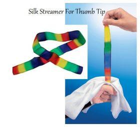Разноцветная шёлковая лента для напальчника (размер 3,8 см*81 см)