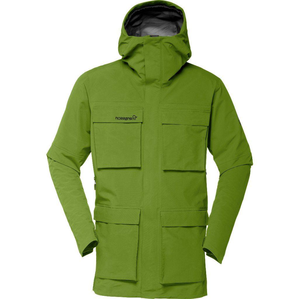 Norrona Svalbard Gore-Tex Jacket Evergreen