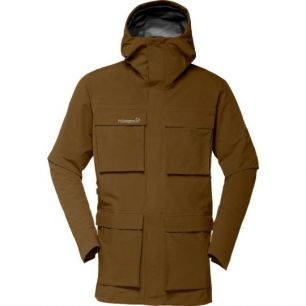 Norrona Svalbard Gore-Tex Jacket Brown Sugar