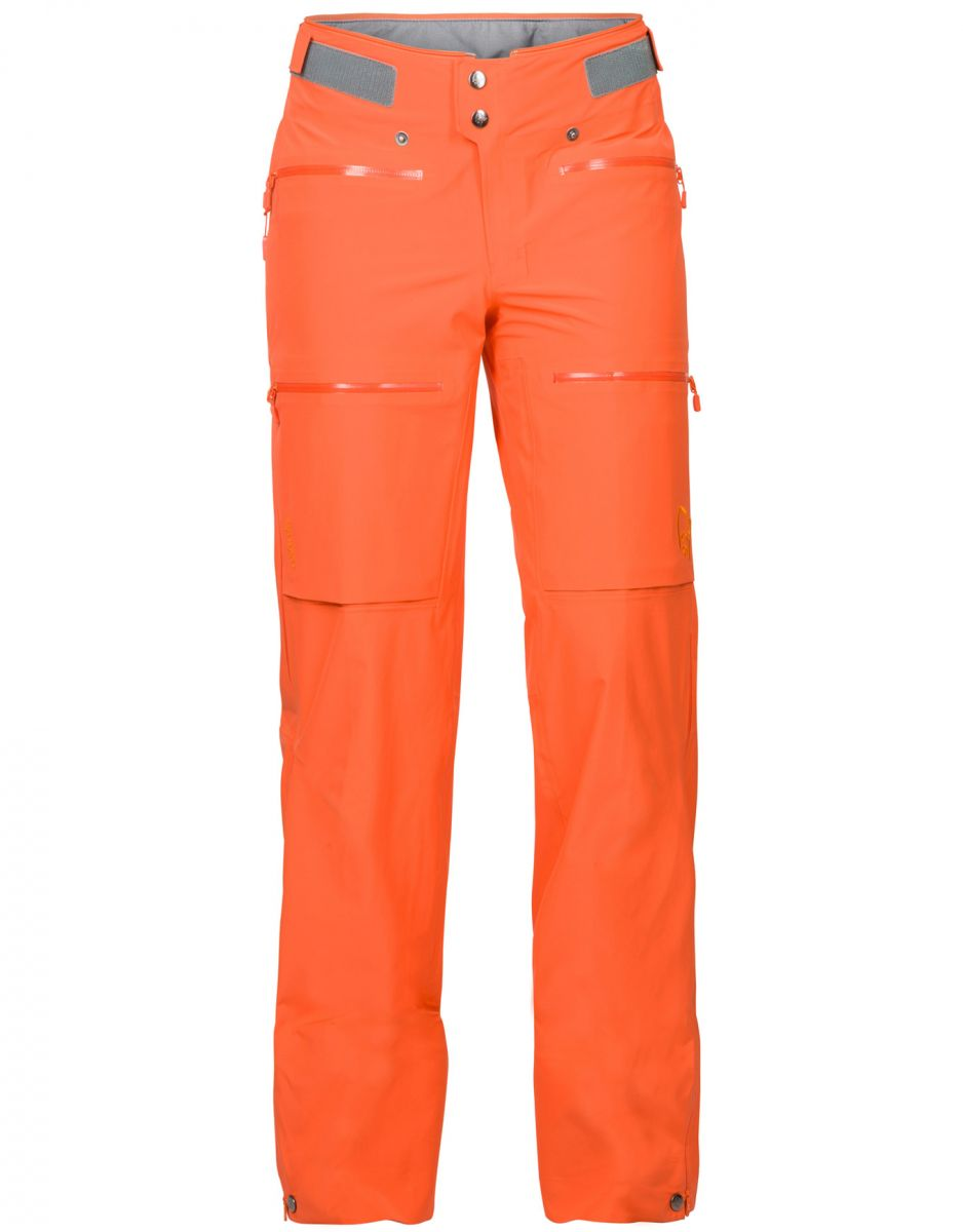 Norrona Lyngen driflex3 Pants Women ORANGE ALERT