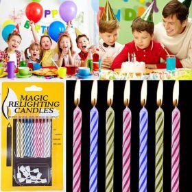 Свечи для торта (горят долго и упорно) Magic Relight Candles